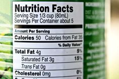 How To Read Nutrition Labels For Clean Eating