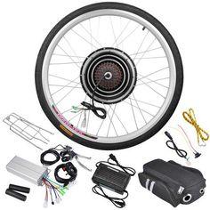 36 Volt 800 Watt 26 Inch Electric Bicycle Conversion Motor Kit Rear Wheel - http://www.bicyclestoredirect.com/36-volt-800-watt-26-inch-electric-bicycle-conversion-motor-kit-rear-wheel/