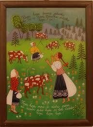 Zuzana Vaňousová - Slovakia Folk Art, Primitive, Cool Stuff, Glass, Frame, Paintings, Illustrations, Home Decor, Picture Frame