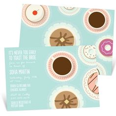 New Bridal Shower Invitations from @Pear Tree Greetings that are perfect for any bride-to-be! #bridalshowerinvitation #bridalshower #peartreegreetings
