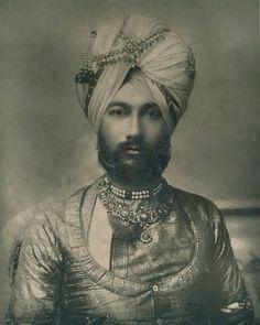 Portrait of H.H. The Raja of Faridkot, India      19th century