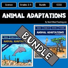 Animal+Adaptations+Complete+BUNDLED+Unit!+Your+students+will+love+learning+all+about+Animal+Adaptations+with+this+creative+and+complete+unit!++This+Complete+Unit+on+Animal+Adaptations+includes:*100+Pages+in+the+Activity+Pack+with+Printables*125+Slides+in+the+PowerPoint+Presentation***SAVE+by+buying+the+Complete+Bundle!Animal+Adaptations+is+a+nonfiction+resource+pack+specifically+geared+for+Grades+3-5.