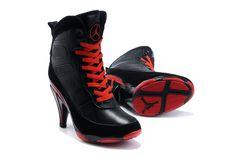 NIKE AIR JORDAN WEDGES | Nike Air Jordan 9 High Heels,high heel nike dunks,Women high heels for ...