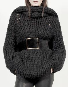 J Brand Fall/ Winter 2013-14 / New York. #Fashion #Black