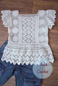 """Aisha Crochet"" вязаный стиль"