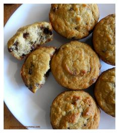 Easy Paleo Chocolate Chip muffins - gluten free, grain free, dairy free, soy free, nut free