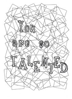 The Inspiring Colouring Book 20 printable coloring pages Hand