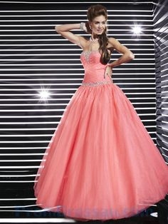 strapless beaded corset pink quinceanera dress - Google Search