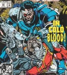 Coldblood marvel comics. Wow, is that Deathlock the Demolisher?