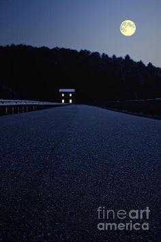 Lights On Up Ahead by Edward Fielding