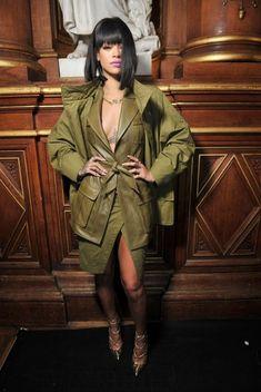 Rihanna at Balmain A/W 2014♛    ♛~✿Ophelia Ryan ✿~♛