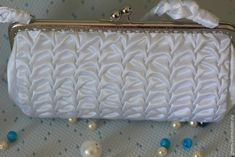Роскошная сумочка невесты своими руками - Ярмарка Мастеров - ручная работа, handmade