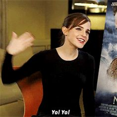 Hi, this is Emma Watson and if you don't know her then you've probably been hiding out in an underground shelter since the 1950s and I'd like to welcome you to 2014. | 29 Reasons Emma Watson Is The Light Of Every Human's Life