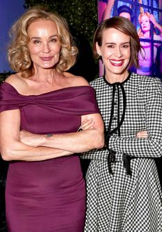 Feud: Bette and Joan Premiere from Party Pics: Hollywood  Jessica Lange and Sarah Paulson celebrate Ryan Murphy's new series for FX.