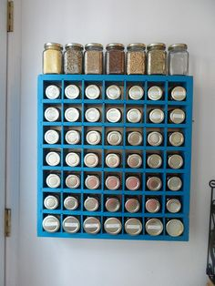 My finished spice rack!