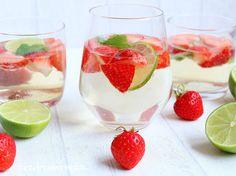 Rezepte mit Herz   ♥: Erdbeer - Hugo - Bowle ♡