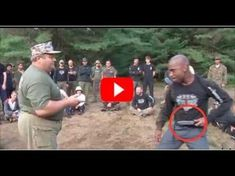 Russian SPETSNAZ Martial Art - Colonel Mikhail Ryabko (Possession of a knife) - YouTube