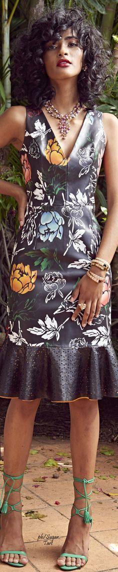 @roressclothes clothing ideas #women fashion  black dress Patricia Viera Spring 2017