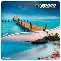 Sorpréndete con el Caribe.  #Cancún #RivieraMaya #México