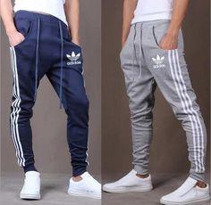 Pantalon Chupin Jogging Gimnasia Hombre Adidas Deportivo Uni