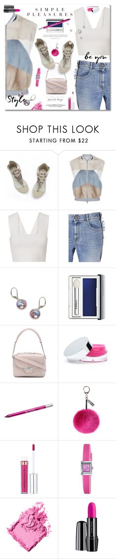 """""""Simple pleasure: just be you"""" by hotlemon ❤ liked on Polyvore featuring Brunello Cucinelli, A.L.C., STELLA McCARTNEY, Kerr®, Clinique, Tod's, Splendid, Urban Decay, Helen Moore and Gucci"""