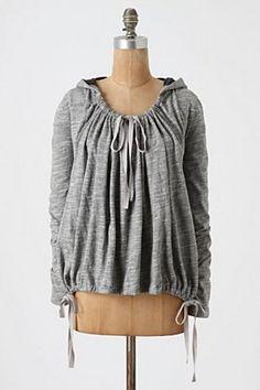 anthropologie swing sweatshirt