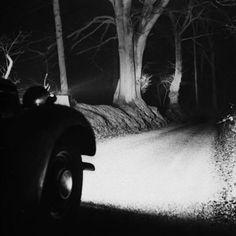 Headlights, 1945, photo by Bill Brandt