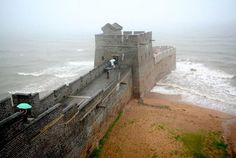 The View From the End of the Great Wall of China | Mental Floss