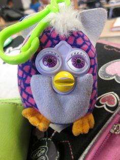 This was the best kind of Furby (The non-talking keychains from McDonalds) I had all of them.