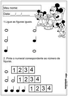 ATIVIDADES DE EDUCAÇÃO INFANTIL E MUSICALIZAÇÃO INFANTIL: Atividades de…