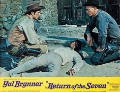 Return of the Seven Larry Cohen, Warren Oates, Robert Fuller, Yul Brynner, The Magnificent Seven, Next Film, The Seven, The Villain, Westerns