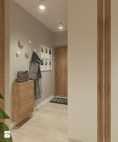Hol- widok na wejście do mieszkania - zdjęcie od Mohav Design
