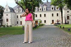 szerokie spodnie w NG - Natalia Gorzołka  na DaWanda.com