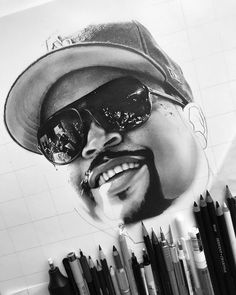 More @icecube • • •  #art #artdiscover #dailyart #artsy #arts_promote #instaart #originalart #artistic_support #art_dailydose #realismart #artwork #artsanity #workinprogress #artistoninstagram #artspotlight #artfollowers #traditionalart #icecube #nwa #westcoasthiphop #oldschool #westside #westcoast #graphitedrawing #graphitepencils #graphiteart #fabercastell9000 #hiphop #rap #iuliancart Hiphop, Rap, Artsy, Drawings, Artwork, Instagram, Work Of Art, Sketch, Hip Hop Dance