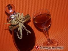 The quickest liqueur with cinnamon taste Greek Sweets, Cooking Time, Wine Glass, Cinnamon, Alcoholic Drinks, Recipies, Homemade, Tableware, Cheers