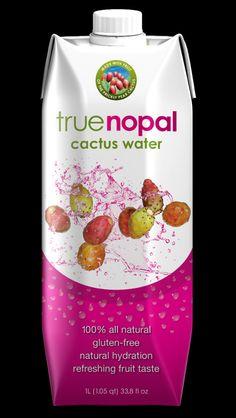 Wahre Nopal-Kaktus Wasser