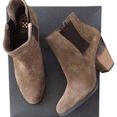 Vince Camuto booties Excellent condition Vince Camuto Shoes Ankle Boots & Booties