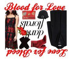 Dark and Beautiful Florals, Banana Republic, Valentino, Mango, Dark, Winter, Polyvore, Red, Stuff To Buy