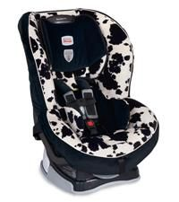 Britax Marathon70 Convertible Car Seat. BEST SEAT EVER!!! Kids are comfortable, sit up high so they can see out the window, also at a good angle in the car so their heads don't fall forward when sleeping. No-fuss straps and buckles. Can purchase clip-on cupholder as well. I use this from about age 1 (does rearfacing as well as frontfacing) to 3 years (or older, depends on their weight/height).