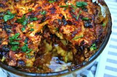 Eastern-Style Veggie Bake [Vegan] a vegan-style bake that infuses the flavors of Middle Eastern cuisine with Greek and Turkey.a vegan-style bake that infuses the flavors of Middle Eastern cuisine with Greek and Turkey. Vegan Foods, Vegan Recipes, Cooking Recipes, Vegan Meals, Vegan Desserts, Ways To Cook Eggplant, Vegan Eggplant, Eggplant Recipes, Eggplant Zucchini