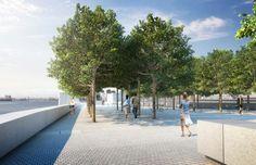 louis kahn: FDR four freedoms park in new york