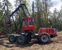 Valmet Forestry Harvester