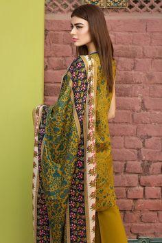 Khaadi 3 Piece Stitched Embroidered Lawn Suit - B17201-B - GREEN - libasco.com    #khaadi #khaadionline #khadiclothes #khaadi2017 #kaadisummer