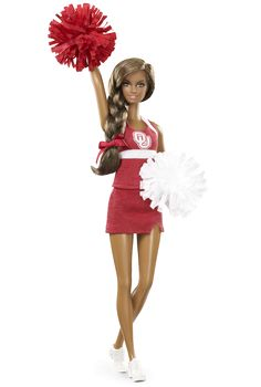 University of Oklahoma Barbie® Doll - African American | Barbie Collector