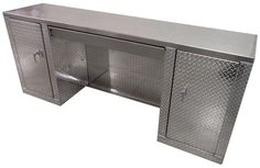 8 Foot Diamond Plate Aluminum Cabinet w/ Drawer! Hand made right here in the USA!