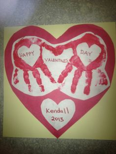 Valentines craft idea - easy for little kids and ...