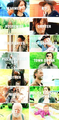 It doesn't matter who you were. What you were doing before the turn, it doesn't matter. Hasn't mattered for a long time. #twd