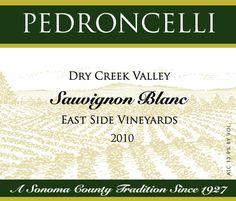 Pedroncelli Sauvignon Blanc 2010 - lovely everyday white