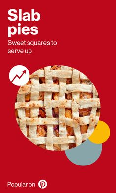 This holiday season, it's hip to be square. Searches for slab pies have increased in the last year. Impress the hostess in your life with this plentiful pie. Desserts For A Crowd, Just Desserts, Birthday Desserts, Birthday Parties, Holiday Gifts, Holiday Ideas, Christmas Ideas, Slab Pie, Pi Day