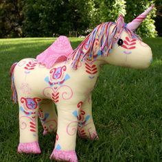 Bubbles the unicorn pattern by Melly&Me